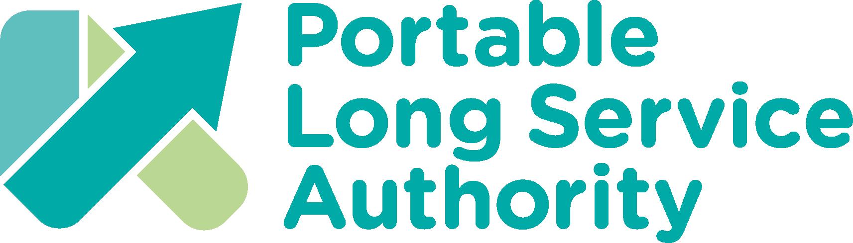 PortableLongServiceAuthority Horizontal Logo RGB